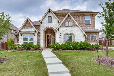 Prosper Single Family Home For Sale: 2121 Lewis Canyon Drive