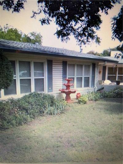 Abilene Single Family Home For Sale: 882 S Leggett Drive