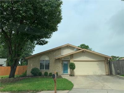 Carrollton Single Family Home For Sale: 2226 Montclair Place