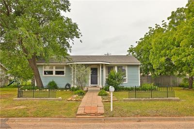 Abilene Single Family Home For Sale: 2109 Collins Avenue
