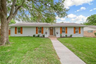Dallas Single Family Home Active Option Contract: 13650 Rolling Hills Lane