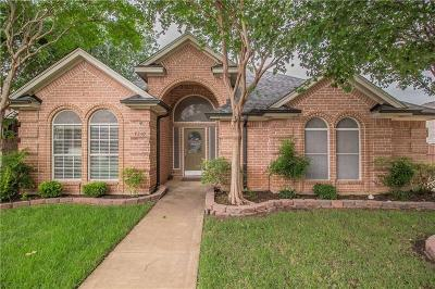 North Richland Hills Single Family Home Active Option Contract: 7340 Cottonwood Court