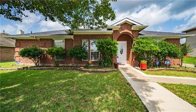 Glenn Heights Single Family Home For Sale: 3005 Dorothy Lane