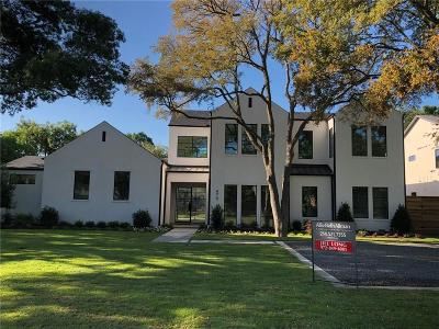 Dallas Single Family Home For Sale: 4708 Myerwood Lane