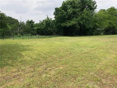 Tarrant County Residential Lots & Land For Sale: 5301 Fossil Drive