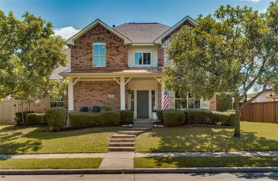 The Colony Single Family Home Active Option Contract: 5832 Cypress Cove Drive