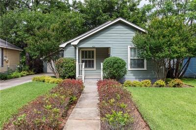 Arlington Single Family Home For Sale: 426 N Pecan Street