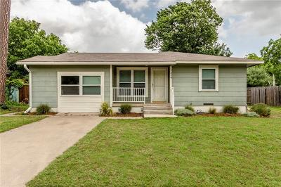 Denton Single Family Home For Sale: 1509 Creek Avenue