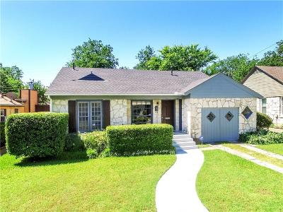 Dallas Single Family Home For Sale: 5820 Palm Lane
