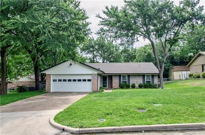 Rockwall Single Family Home Active Option Contract: 220 Joe White Street