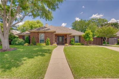 Plano Single Family Home Active Option Contract: 3412 Hilltop Lane