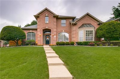 Rowlett Single Family Home Active Option Contract: 1901 Sunset Hill