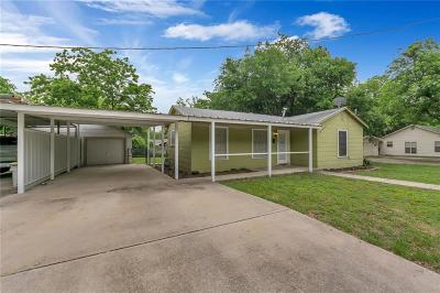Archer County, Baylor County, Clay County, Jack County, Throckmorton County, Wichita County, Wise County Single Family Home For Sale: 500 N Cates Street