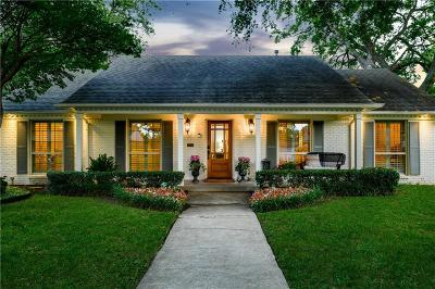 Dallas Single Family Home For Sale: 7036 Whitehill Street