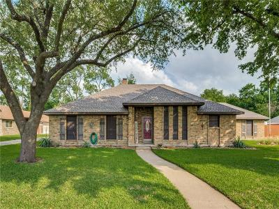 Sachse Single Family Home Active Contingent: 1908 Cornwall Lane