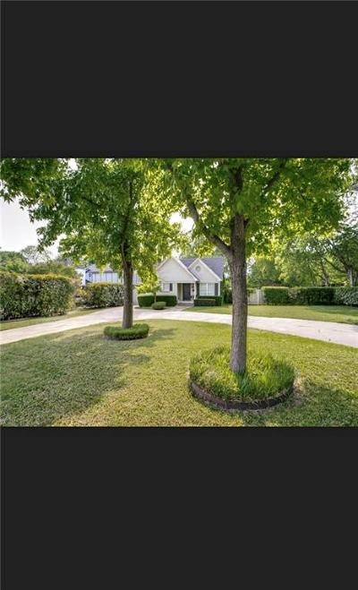 Dallas Single Family Home For Sale: 7007 Inwood Road