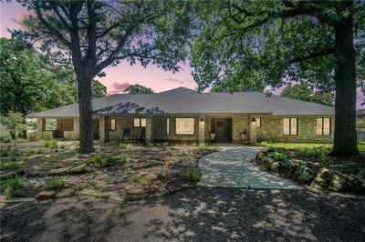 Denton County Single Family Home For Sale: 1942 E Hickory Hill Road
