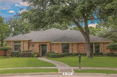 Plano Single Family Home For Sale: 4005 Elganza Court