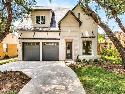 Dallas Single Family Home For Sale: 9841 Williamsburg Road