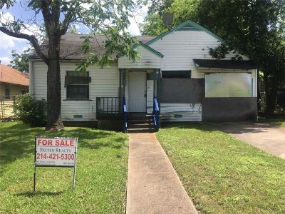 Dallas Single Family Home For Sale: 1562 E Ohio Avenue