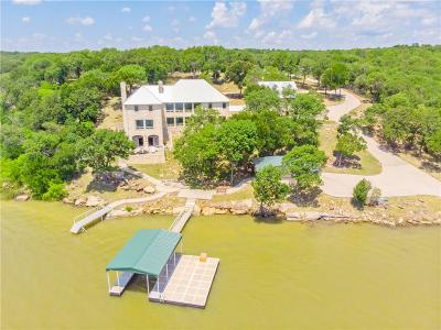 Archer County, Baylor County, Clay County, Jack County, Throckmorton County, Wichita County, Wise County Single Family Home For Sale: 180 Moonlight Bay