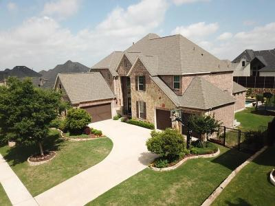 Prosper Single Family Home Active Contingent: 1031 Double B Trail