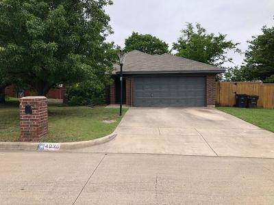 Single Family Home For Sale: 4036 Heritage Way Drive