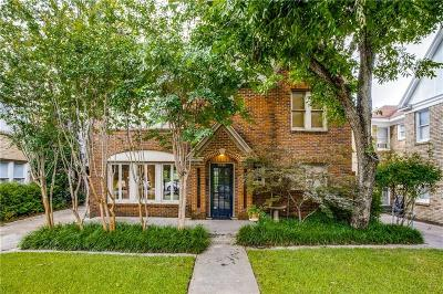 Dallas Single Family Home For Sale: 4036 Prescott Avenue