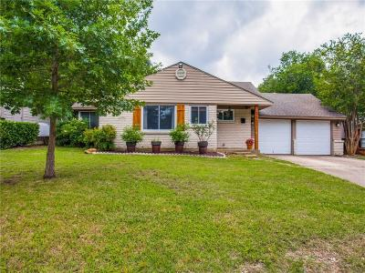 Dallas County, Denton County, Collin County, Cooke County, Grayson County, Jack County, Johnson County, Palo Pinto County, Parker County, Tarrant County, Wise County Single Family Home For Sale: 3351 Covert Avenue