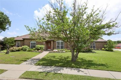 Sachse Single Family Home Active Option Contract: 6202 Parkridge Drive