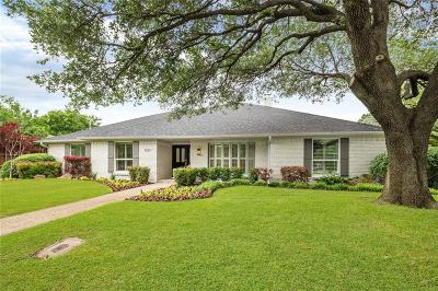 Dallas County Single Family Home For Sale: 7231 Cutter Mill Drive