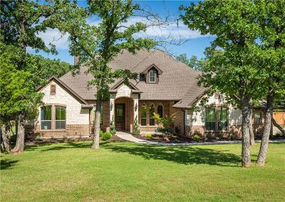 Weatherford Single Family Home Active Contingent: 137 Foxpointe Circle