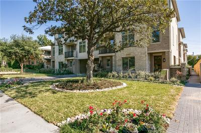 Highland Park, University Park Condo For Sale: 4514 Abbott Avenue #6