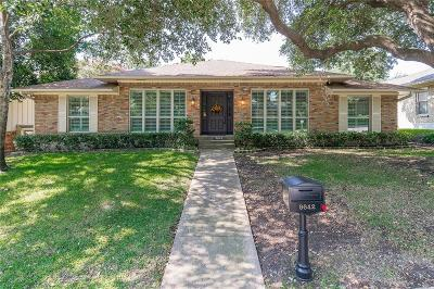 Dallas Single Family Home For Sale: 9642 Whitehurst Drive