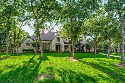Flower Mound Single Family Home For Sale: 3209 Oak Crest Drive