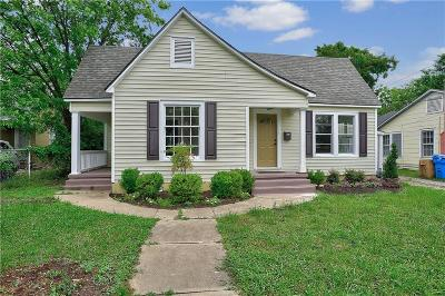 Sherman Single Family Home Active Option Contract: 917 N Woods Street