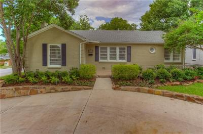 Fort Worth TX Single Family Home For Sale: $445,000