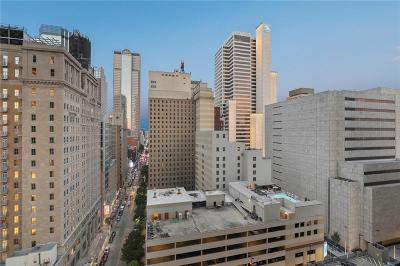 Downtown Dallas Condo For Sale: 1200 Main Street #1409