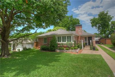 Fort Worth Single Family Home For Sale: 3410 Westcliff Road S