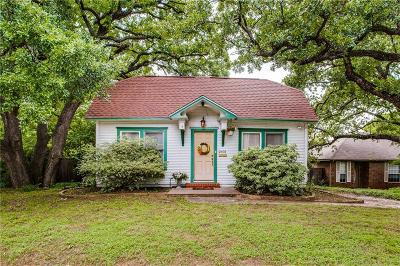 Denton Single Family Home For Sale: 2601 N Locust Street
