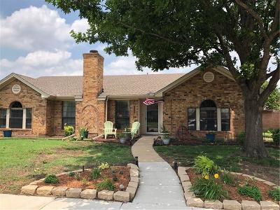 Plano Single Family Home Active Option Contract: 909 Shannon Drive