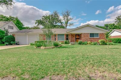 Fort Worth Single Family Home For Sale: 7020 Wycliff Street
