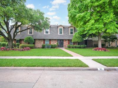 Richardson Single Family Home For Sale: 911 Dunbarton Drive