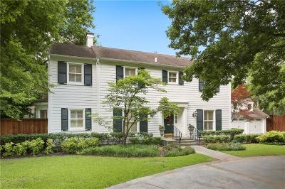 Preston Hollow Single Family Home Active Contingent: 6306 Glendora Avenue