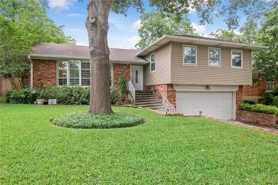 Richardson Single Family Home For Sale: 707 S Weatherred Drive