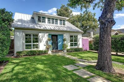 Fort Worth Single Family Home For Sale: 5224 El Campo Avenue