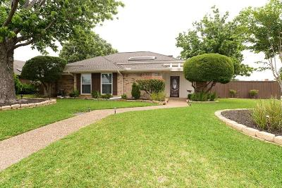 Carrollton Single Family Home For Sale: 1631 Sutters Mill Drive