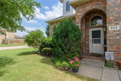 Dallas County, Denton County, Collin County, Cooke County, Grayson County, Jack County, Johnson County, Palo Pinto County, Parker County, Tarrant County, Wise County Single Family Home For Sale: 422 Goodnight Trail