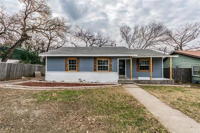 Fort Worth Single Family Home For Sale: 1844 Lynnhaven Road