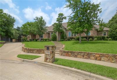 Keller Single Family Home For Sale: 1104 Meandering Woods Drive